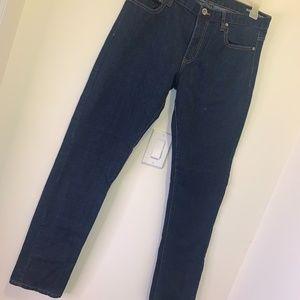 Dark Wash Skinny Mens Jeans 34x32